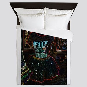 French Quarter Tutu Queen Duvet