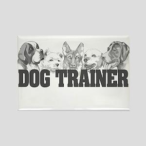Dog Trainer Rectangle Magnet