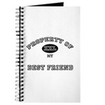 Property of my BEST FRIEND Journal