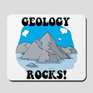 Geology Rocks! Mousepad