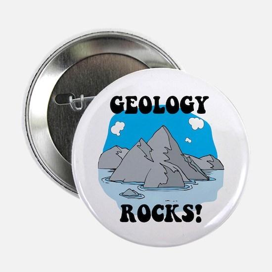 Geology Rocks! Button