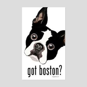 Got Boston? Sticker (Rectangle)