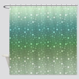 Ombre Confetti Shower Curtain