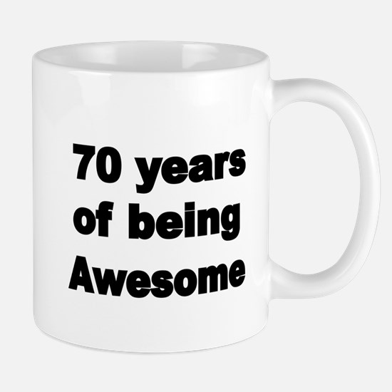 70 years of being Awesome Mugs