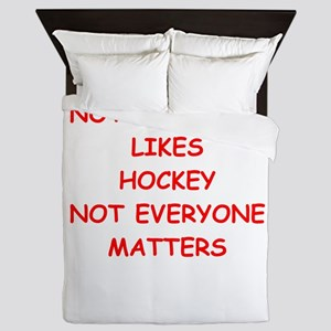 hockey Queen Duvet