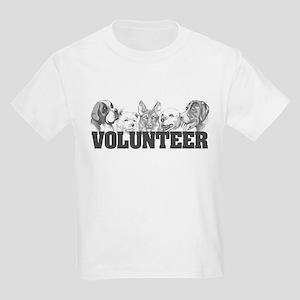 Volunteer (dogs) Kids Light T-Shirt