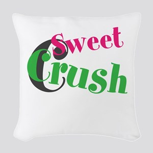 Sweet Crush Woven Throw Pillow