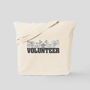 Volunteer (cats) Tote Bag