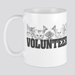 Volunteer (cats) Mug