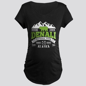 Denali Vintage Maternity Dark T-Shirt