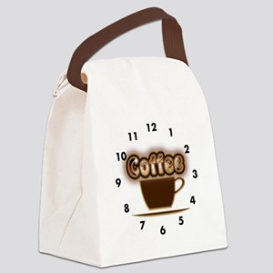 Coffee Time Canvas Lunch Bag