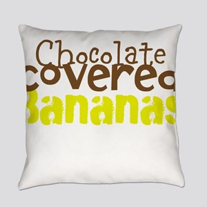 Chocolate Covered Bananas Everyday Pillow