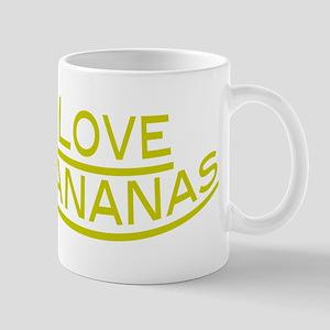 Love Bananas 11 oz Ceramic Mug
