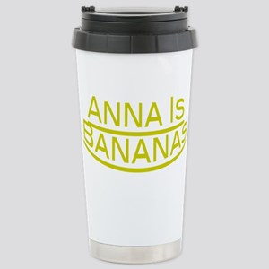 Anna Is Bananas 16 oz Stainless Steel Travel Mug