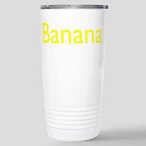 Banana 16 oz Stainless Steel Travel Mug