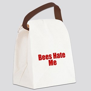 Bees Hate Me Canvas Lunch Bag