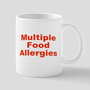Multiple Food Allergies 11 oz Ceramic Mug