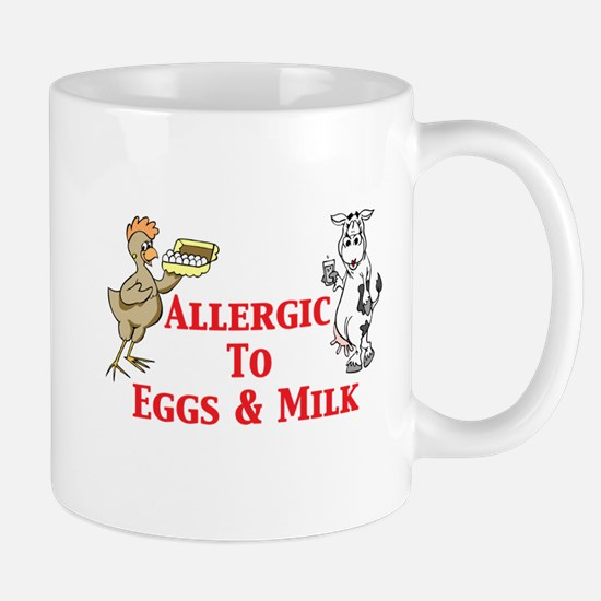 Allergic To Eggs Milk Mug
