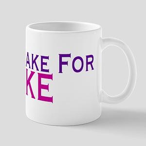 Will Brake For Cake 11 oz Ceramic Mug