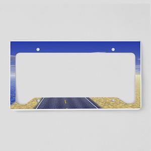 Fine Day License Plate Holder