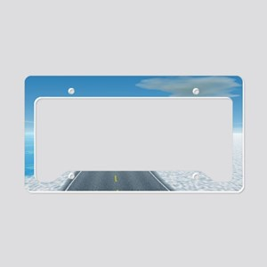 Ice Road License Plate Holder