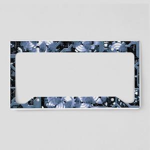 SteamClockwork - Steel License Plate Holder