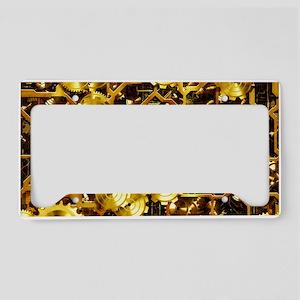 SteamClockwork - Brass License Plate Holder