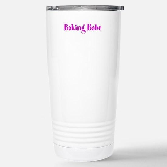 Baking Babe Travel Mug