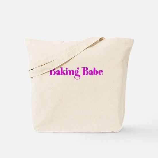 Baking Babe Tote Bag