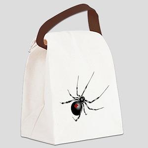 Black Widow - No Txt Canvas Lunch Bag