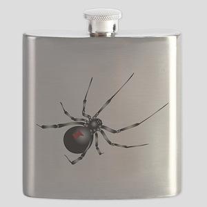 Black Widow - No Txt Flask