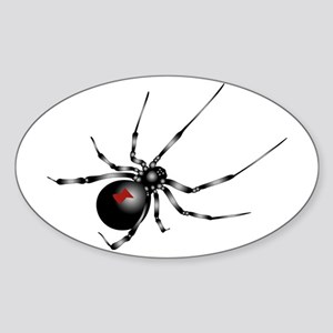 Black Widow - No Txt Sticker (oval)
