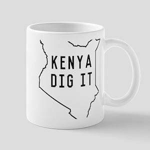 Kenya dig it Mugs