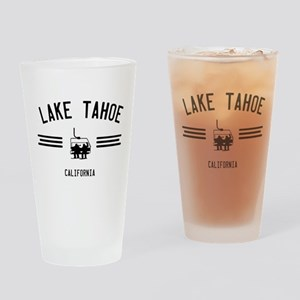 Lake Tahoe California Drinking Glass