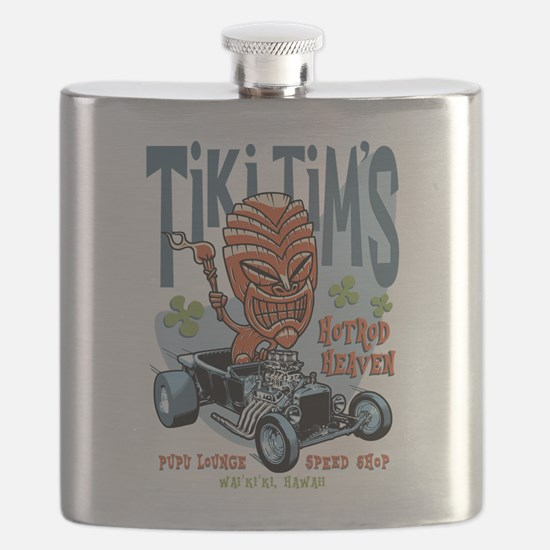 Tiki Tim's II Flask