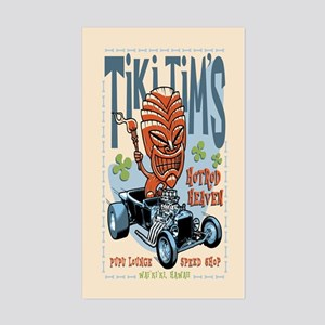 Tiki Tim's II Sticker (Rectangle)