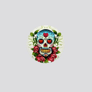 SugarSkull1 Mini Button