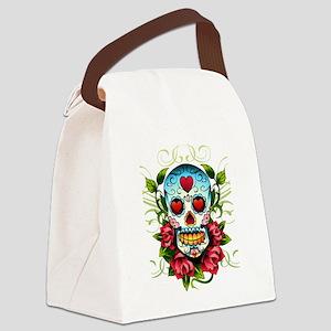 SugarSkull1 Canvas Lunch Bag