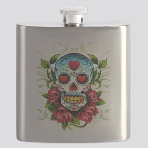 SugarSkull1 Flask