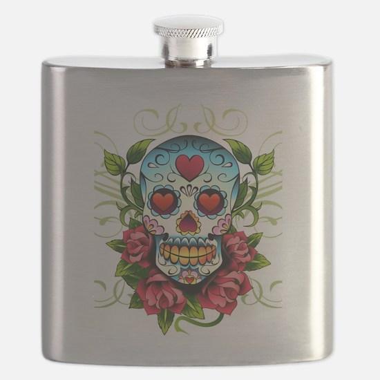 SugarSkull1 Flask