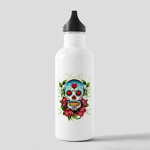 SugarSkull1 Water Bottle