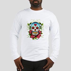 SugarSkull1 Long Sleeve T-Shirt