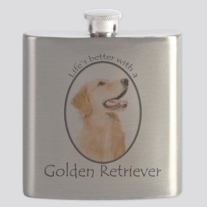 A Golden Life Flask