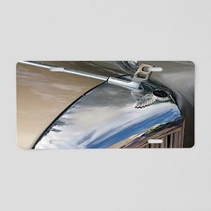 Bentley hood and badge  Aluminum License Plate