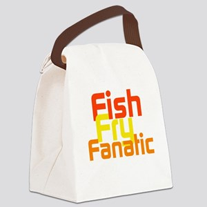 Fish Fry Fanatic Canvas Lunch Bag