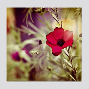 wildflower Tile Coaster