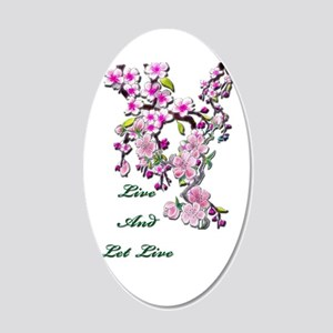 Live and Let Live Wall Decal