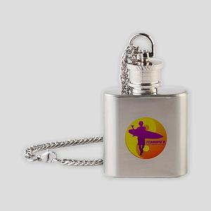 Teahupoo Flask Necklace