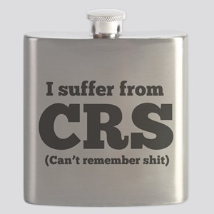 I suffer from CRS (can't remember shit) Flask
