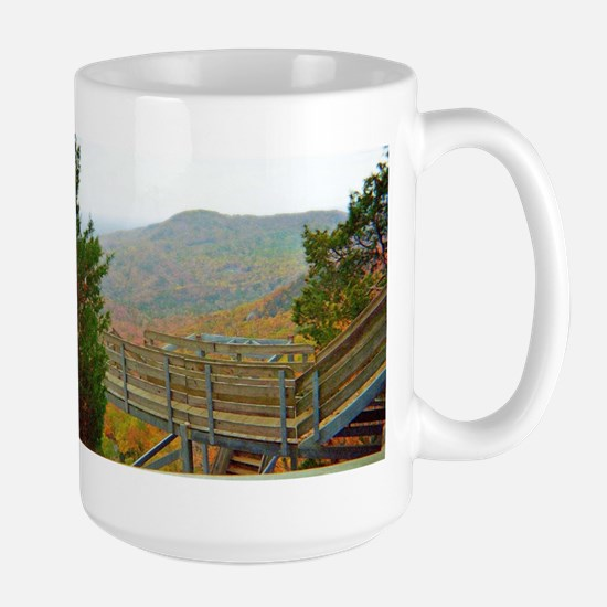 Overlooking Smokies Mugs